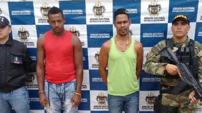 En Bahía Solano capturan a dos sujetos por tráfico, fabricación o porte de estupefacientes