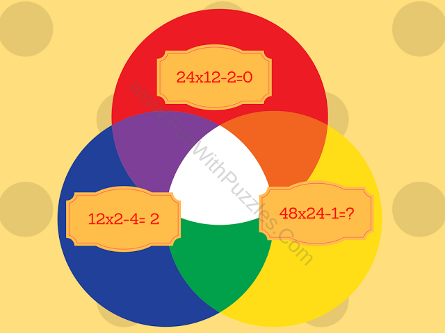 Mathematics Equations Circle Picture Puzzle-4
