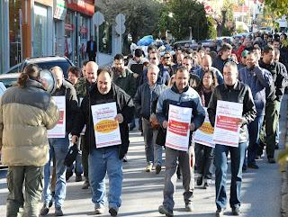 Στη γενική απεργία που έχει προκηρυχθεί για την Τετάρτη, 20 Φεβρουαρίου, συμμετέχει το Σωματείο Εργαζομένων του δήμου Ηλιούπολης και καλεί, με ανακοίνωσή του, σε γενική συμμετοχή και σε κοινή δράση δημόσιου και ιδιωτικού τομέα πάνω σε ενιαία αιτήματα.