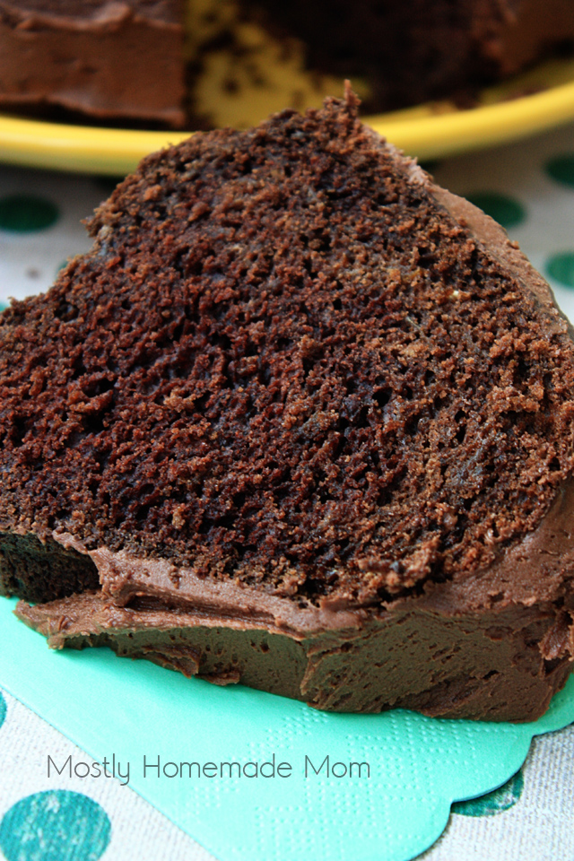 Chocolate Orange Zucchini Cake dessert recipe
