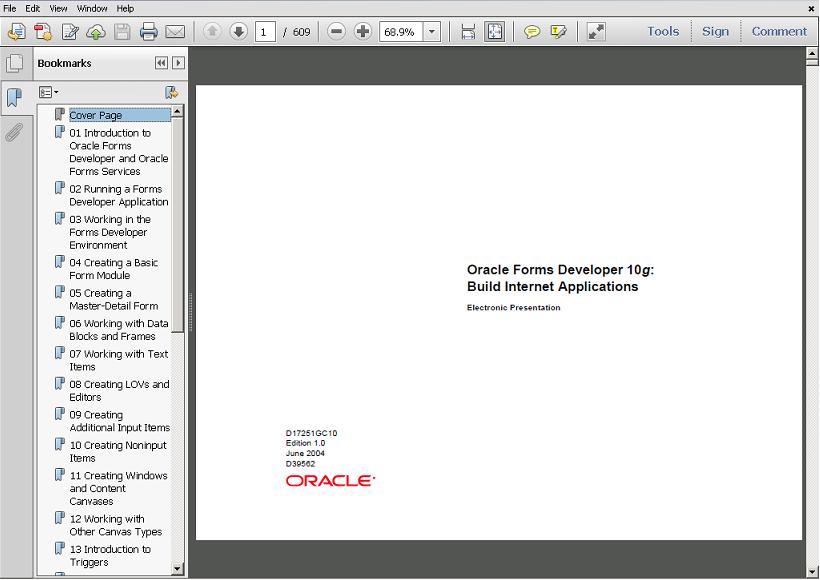 Oracle 10g Documentation Pdf