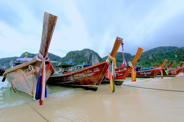 Long Tail Boat Travel Photography Guide Blogger in Thailand