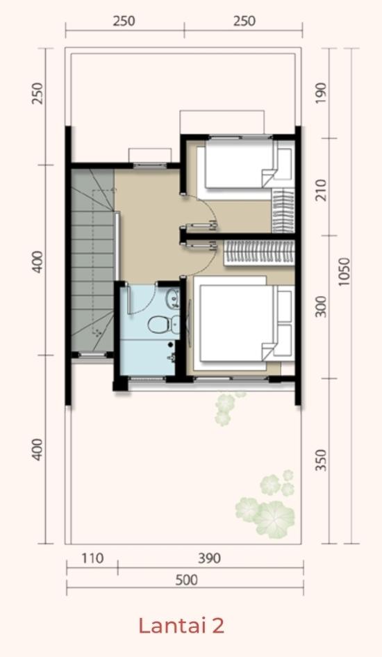 Contoh Desain Rumah Ukuran 5x10