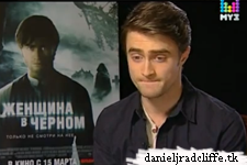 Updated: The Woman in Black press junket interviews (Russia)