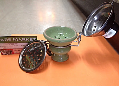 Bowl with Cover on, Suitable for smoking inside outside or in the wind sold at Pars Market LLC Columbia Maryland 21045
