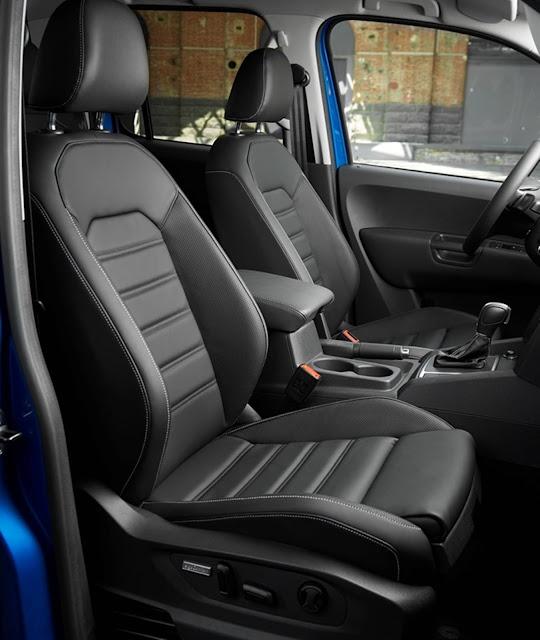 VW Amarok 2017 - interior