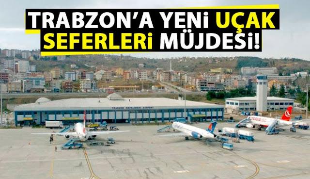 Trabzon - Cidde Uçak Seferleri