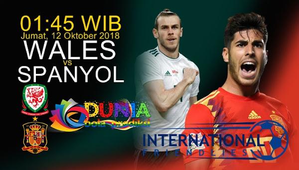 Link trực tiếp Wales vs Tây Ban Nha, 1h45 ngày 12/10 (Giao hữu 2018)