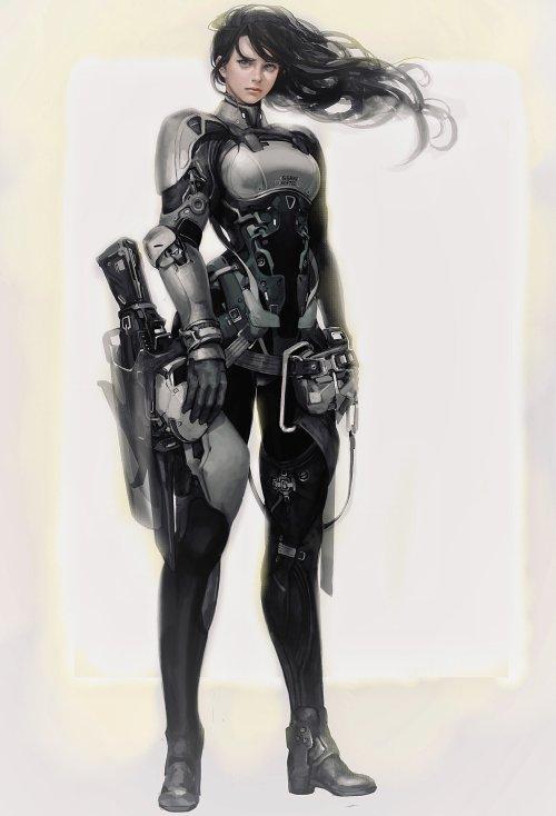 Ssaki Metel artstation arte ilustrações fantasia ficção mulheres