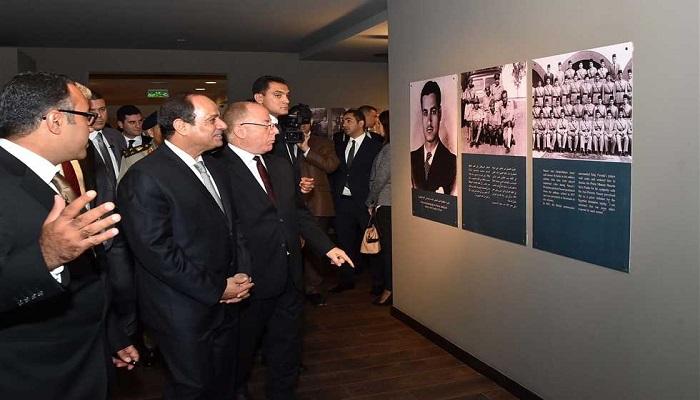 السيسى يفتتح متحف الزعيم الخالد عبد الناصر بمصر الجديدة