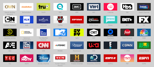 HDHomeRun Premium TV Included Channels
