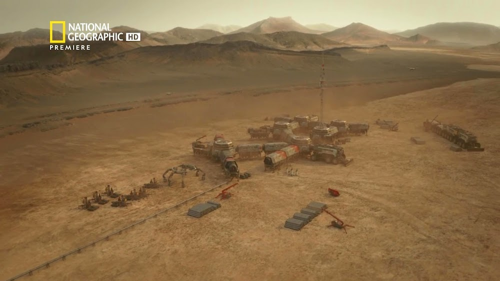 National Geographic MARS - episode 5, season 2 (Lukrum colony)