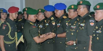 Kepala Staf TNI AD Pimpin Serah Terima Empat Panglima Kodam