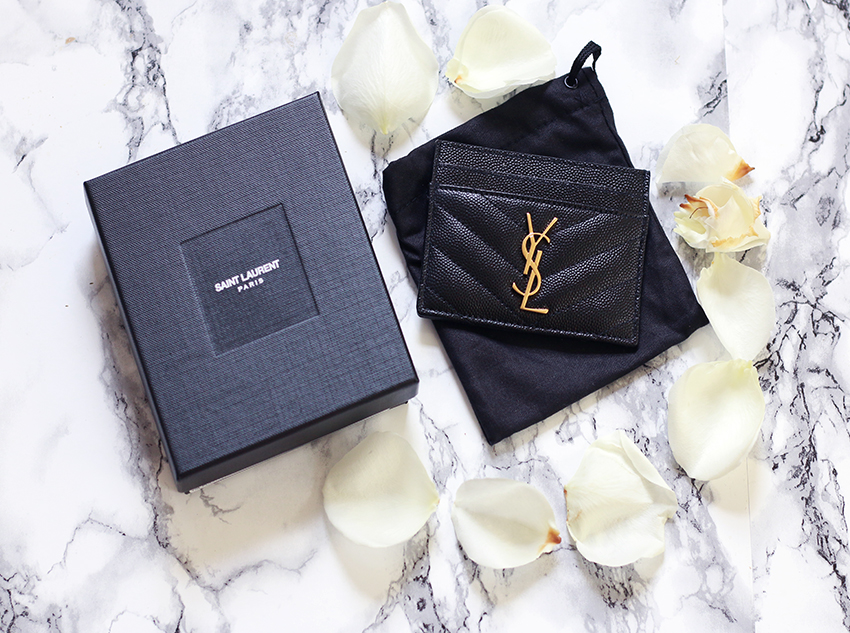 5f8c1f4b31f After getting my Gucci bag as a Christmas gift from the boy. I started  browsing Net-a-porter website and fell in love with this YSL monogrammed  cardholder ...