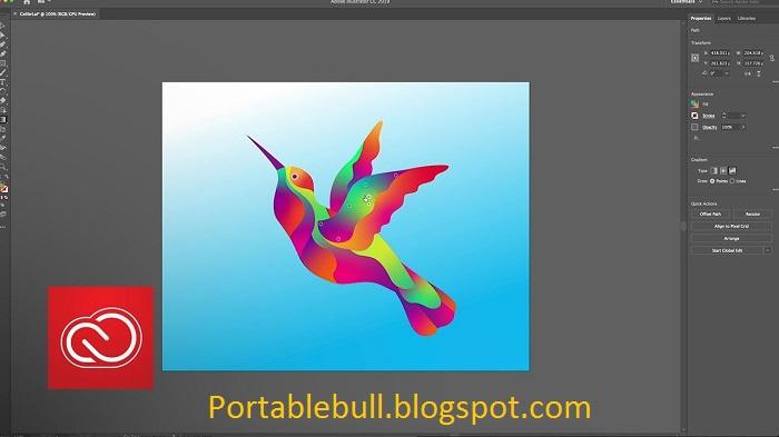Adobe Illustrator CC 2019 Free Download || FULL VERSION ~ Download Portable Free Softwares