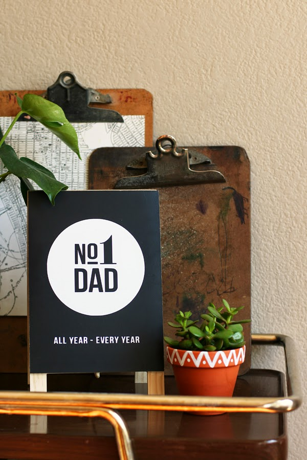 Father S Day No 1 Dad Easel Eighteen25 Bloglovin
