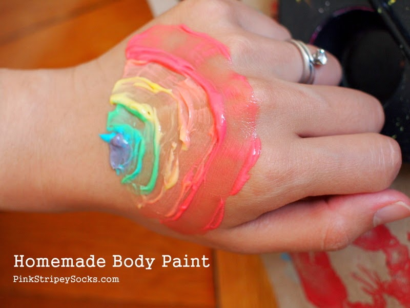 DIY Homemade Body Paint