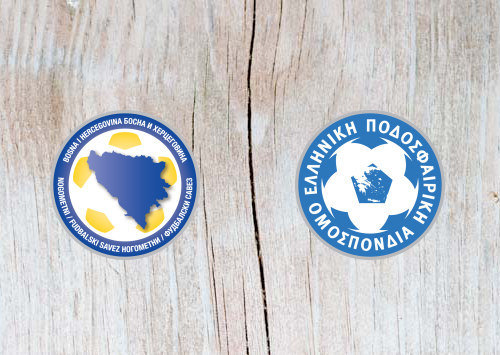 Bosnia and Herzegovina vs Greece - Highlights 26 March 2019