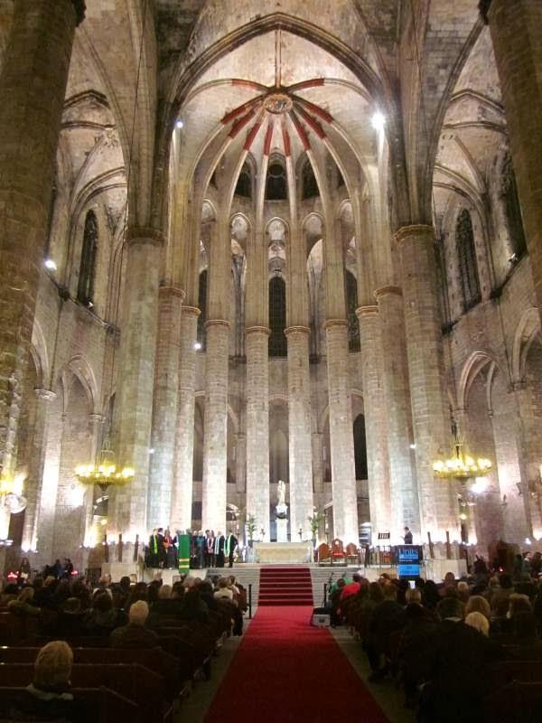 Santa Maria del Mar en Barcelona