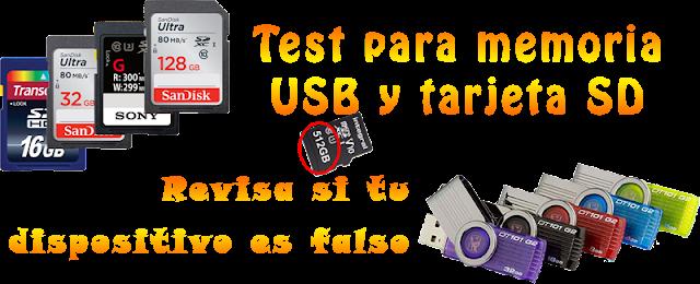 test completo para pendriver y tarjetas SD [ velocidad y tamaño de memoria real]