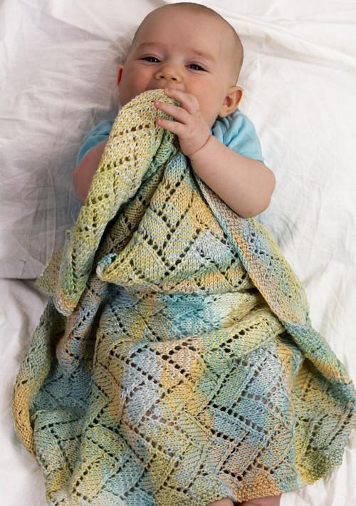 A Tisket A Tasket Baby Blanket - Free Pattern