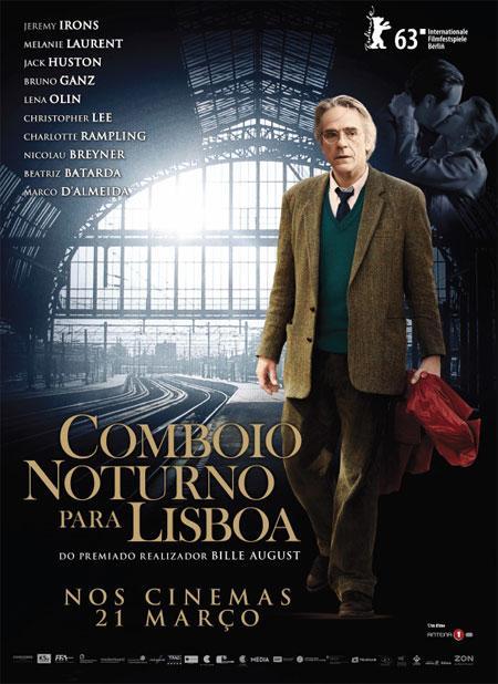 """Vou apanhar um """"Comboio Noturno para Lisboa"""""""