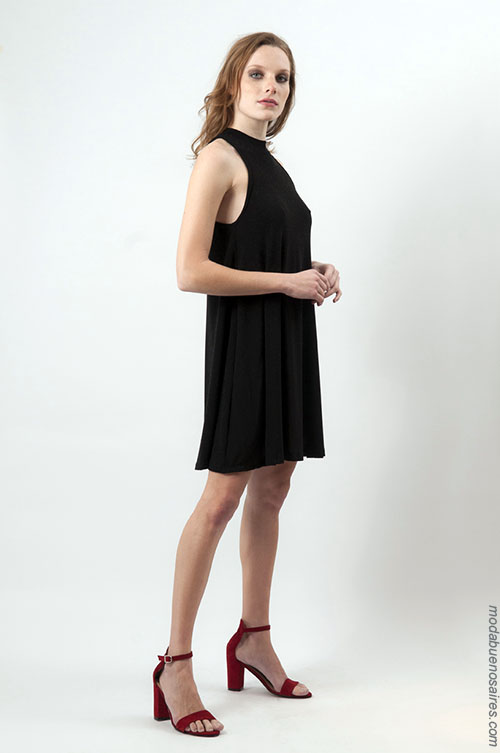 Moda mujer verano 2018 ropa de moda vestidos.