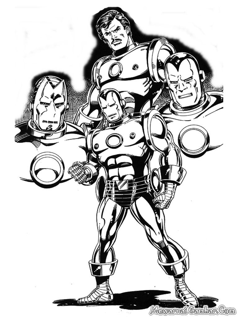 8300 Gambar Iron Man Hitam Gratis Terbaru