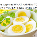 You'll be surprised WHAT HAPPENS TO YOUR BODY IF YOU EAT EGGS EVERY DAY?