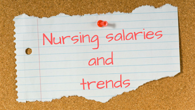 nursing salaries and trends