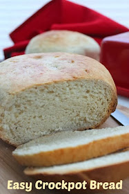 Easy #Crockpot bread ready in just 6 steps!