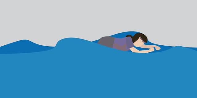 Ade Tewas Terseret Arus Kali Ciliwung ketika Menjala Ikan