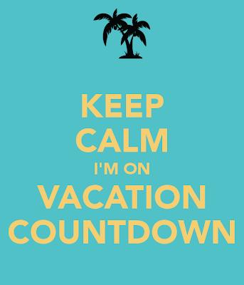 Resultado de imagem para countdown para férias