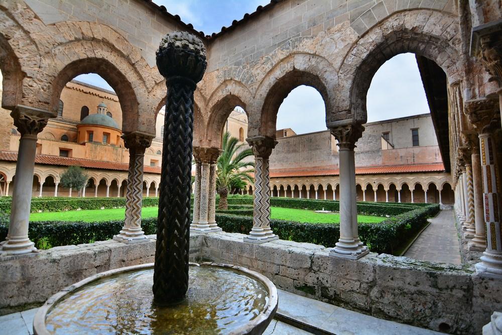 cloitre Monreale Sicile