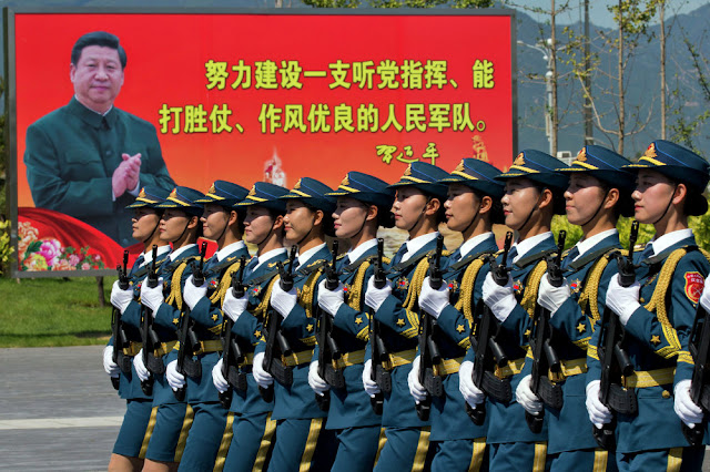 China Naikkan Anggaran Militer Menjadi Rp 2.410 Triliun