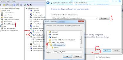 Cara Install Usb Driver Nokia X Rm 980 di Komputer