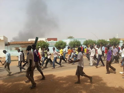 Protest in Sudan 2018