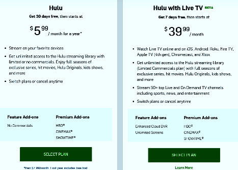 showtime, live tv app, hulu app , hulu vs netflix, hulu subscription plans , hulu live tv local channels, hulu channels 2019, how to get hulu, how much is netflix a month, hulu live cost, hulu family plan