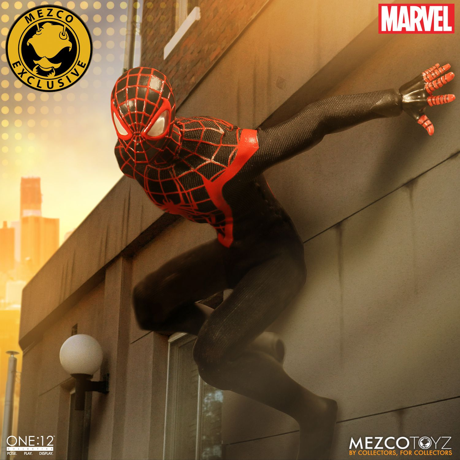 ff7dca89b San Diego Comic-Con 2017 Exclusive Ultimate Spider-Man Miles Morales One12  Collective Marvel