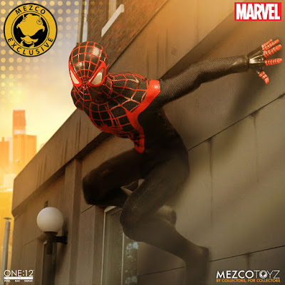 San Diego Comic-Con 2017 Exclusive Ultimate Spider-Man Miles Morales One12 Collective Marvel Action Figure by Mezco Toyz