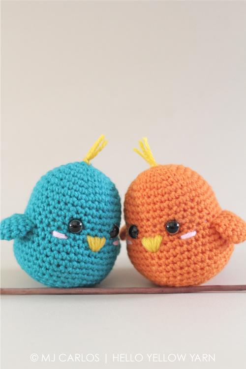 Häkelblog Täglich Neue Anleitungen Süße Vögelchen Häkelanleitung