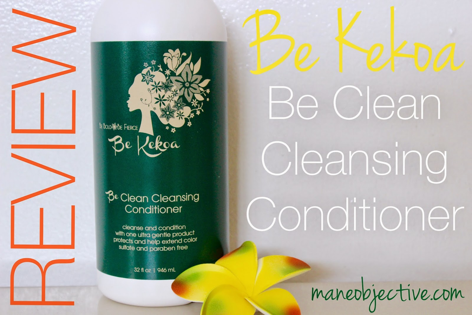 Be Kekoa Be Clean Cleansing Conditioner Review