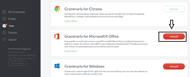 Grammarly for word Mac