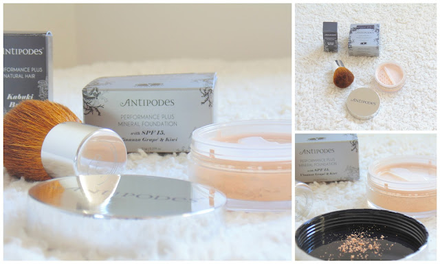 Antipodes Mineral Foundation + Kabuki Brush