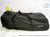 Kereta Bayi Lightweight BABYELLE BS-S601 MAXI dengan Travel Bag