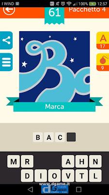 Iconica Italia Pop Logo Quiz soluzione pacchetto 4 livelli 61-75