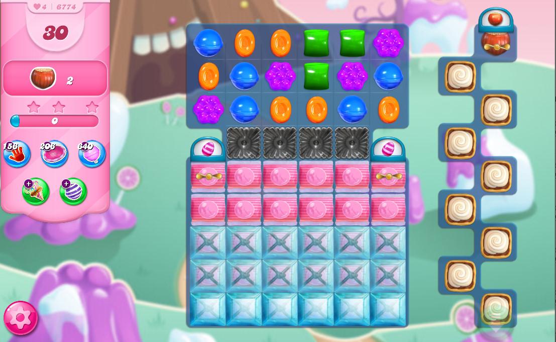 Candy Crush Saga level 6774