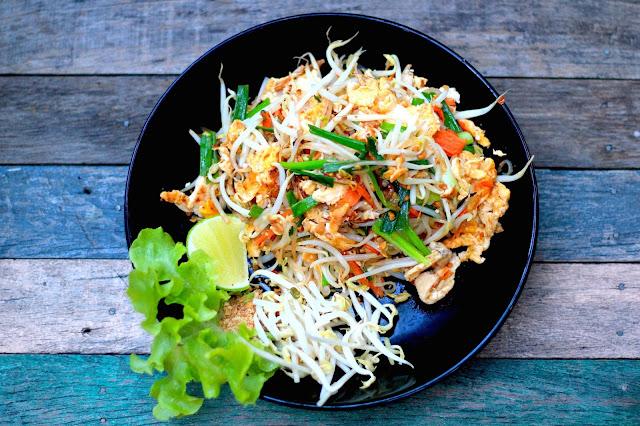 Pad thai Food Visit Chiang Mai Thailand