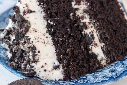 Cookies 'n Cream Oreo Cake Recipe