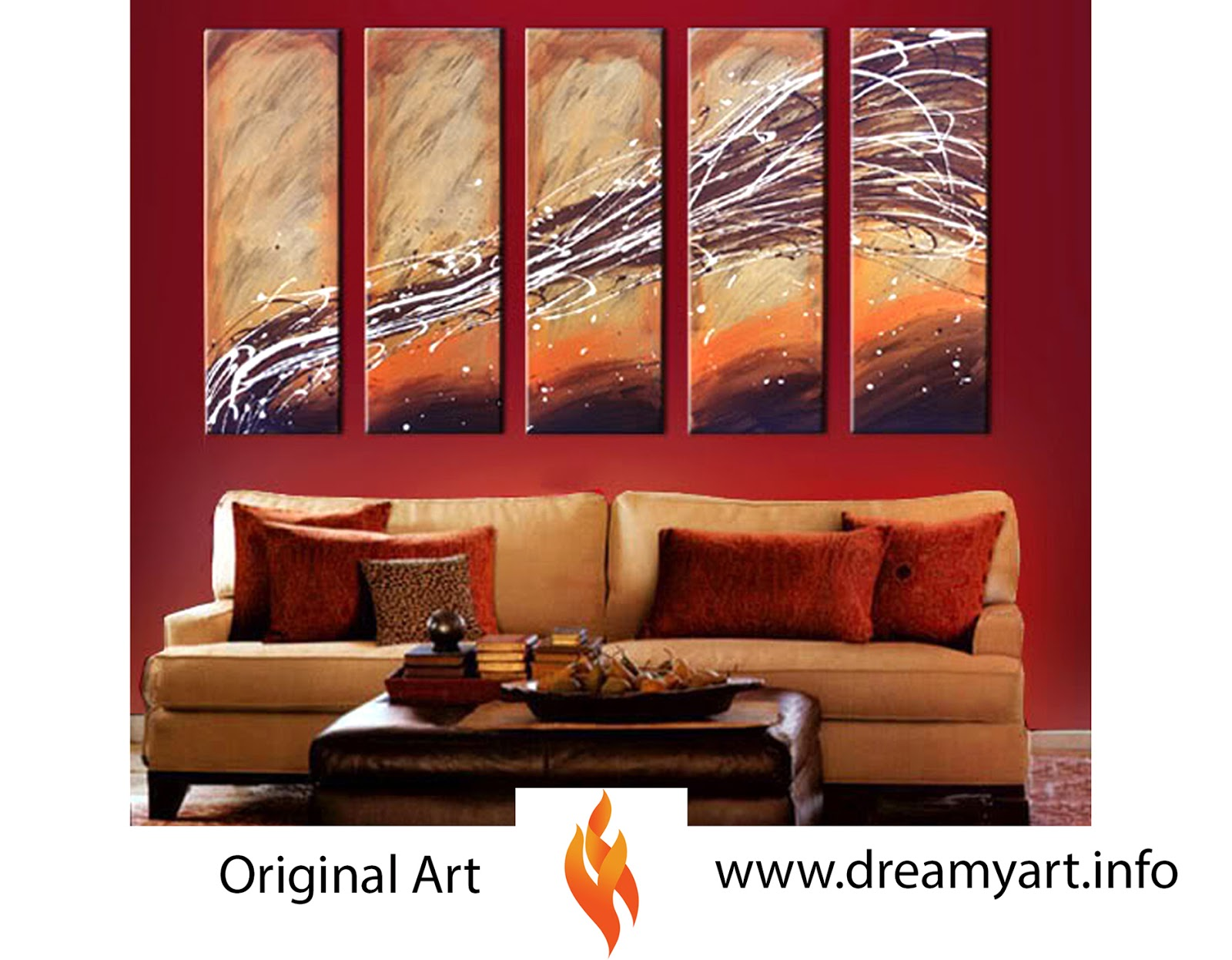 Huge Selection Of Abstract Modern Paintings For Sale